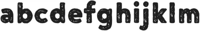 Noyh A Bistro Rough otf (400) Font LOWERCASE
