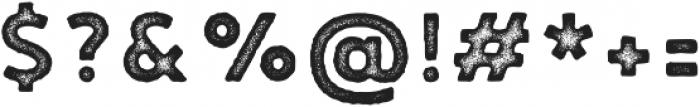 Noyh A Cafe Press2 otf (400) Font OTHER CHARS