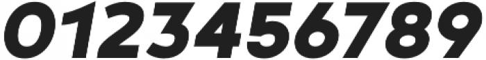 Noyh Geometric Black Italic otf (900) Font OTHER CHARS