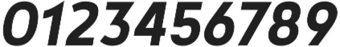 Noyh Geometric Slim Bold Italic otf (700) Font OTHER CHARS