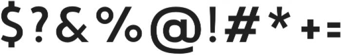 Noyh Geometric Slim Medium otf (500) Font OTHER CHARS