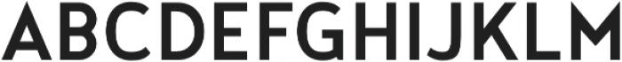 Noyh Geometric Slim Medium otf (500) Font UPPERCASE