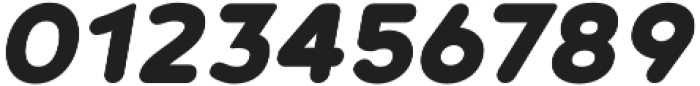 Noyh R Black Italic otf (900) Font OTHER CHARS