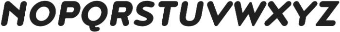 Noyh R Black Italic otf (900) Font UPPERCASE