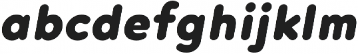 Noyh R Black Italic otf (900) Font LOWERCASE