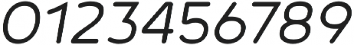 Noyh R SemiLight Italic otf (300) Font OTHER CHARS