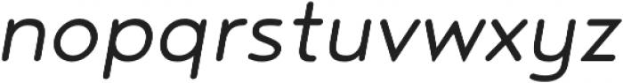 Noyh R SemiLight Italic otf (300) Font LOWERCASE