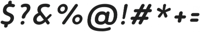 Noyh Slim R Medium Italic otf (500) Font OTHER CHARS