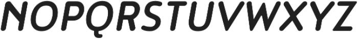 Noyh Slim R Medium Italic otf (500) Font UPPERCASE