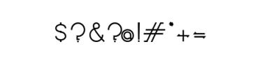Novatny Font OTHER CHARS