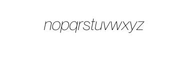 Noveltica Nova LightItalic.otf Font LOWERCASE