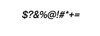 Noveltica Nova-MediumItalic.otf Font OTHER CHARS