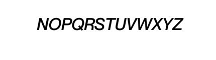 Noveltica Nova-MediumItalic.otf Font UPPERCASE