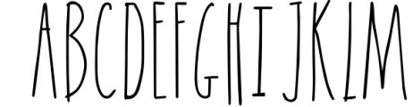 NOW bold, thin and regular Goof Nugget - Font UPPERCASE
