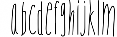 NOW bold, thin and regular Goof Nugget - Font LOWERCASE