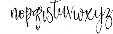 Nortshine Font LOWERCASE