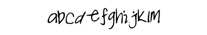 NOALANI Font LOWERCASE