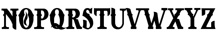 NOPIA DEMO Font UPPERCASE