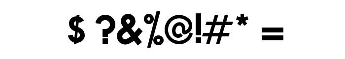 NOVA-BOLD Font OTHER CHARS
