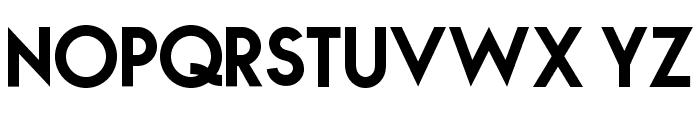 NOVA-BOLD Font LOWERCASE