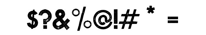 NOVASTAMP-Bold Font OTHER CHARS