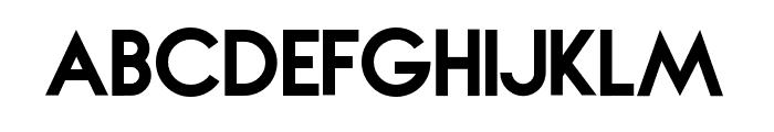NOVAegular Font LOWERCASE