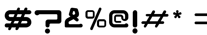 NOZSTUDIO Font OTHER CHARS