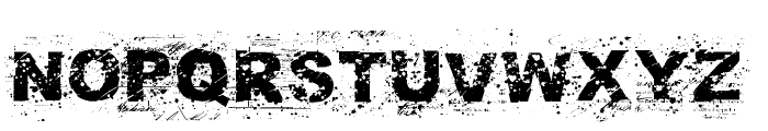 NoAutority Regular Font UPPERCASE