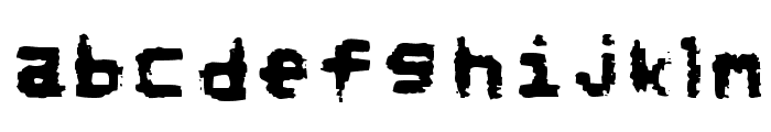 NoRefunds Font LOWERCASE