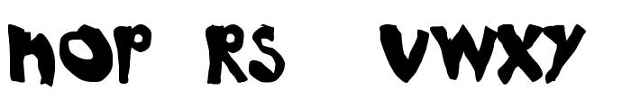 NoRules Font UPPERCASE