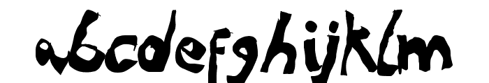 NoRules Font LOWERCASE