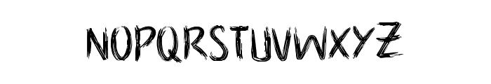 NoScary regular Font LOWERCASE