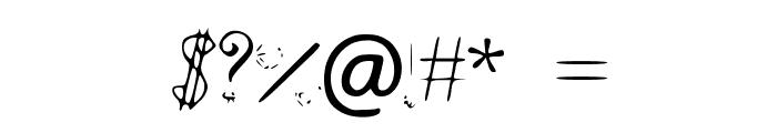 NoStringsAttatched Font OTHER CHARS