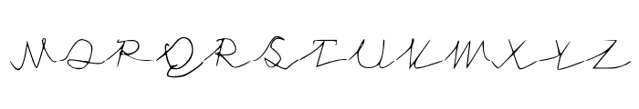 NoStringsAttatched Font UPPERCASE