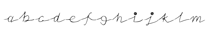NoStringsAttatched Font LOWERCASE