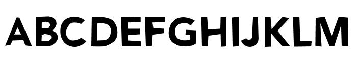 NoWayBack Font UPPERCASE