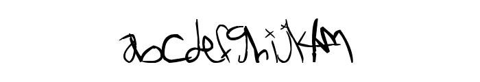 NoXWay Font LOWERCASE