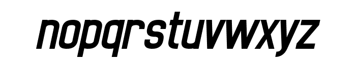Noasarck Obliquo Italic Font LOWERCASE