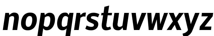 Nobile Bold Italic Font LOWERCASE