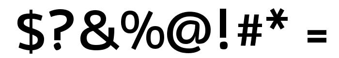 Nobile Medium Font OTHER CHARS