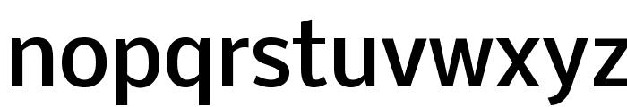 Nobile Medium Font LOWERCASE