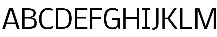 Nobile Font UPPERCASE