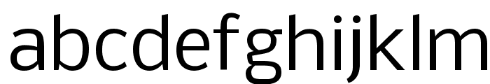 Nobile Font LOWERCASE