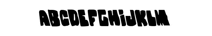 Nobody's Home Leftalic Font LOWERCASE