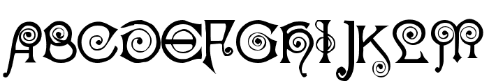 Nocker   Cranky Font UPPERCASE