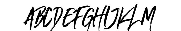 Nocturnal Font UPPERCASE