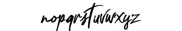Nocturnal Font LOWERCASE