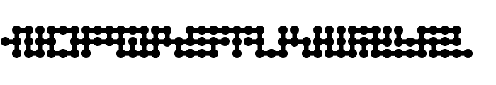 Node to Nowhere Font UPPERCASE