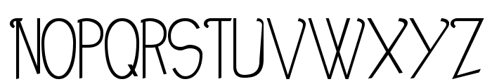 Noir-et-Blanc Font UPPERCASE