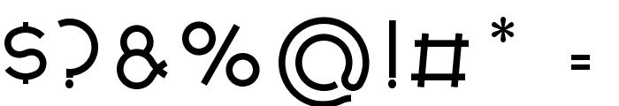 Nonchalance Medium Font OTHER CHARS